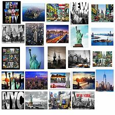 24 Various Collectible New York City Landmark Photos Decorative NY Pictures NYC
