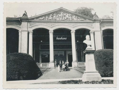 Foto Baden Baden - Stadt-Gebäude  um 1930  (E338)