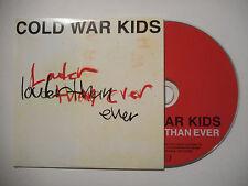COLD WAR KIDS : LOUDER THAN EVER ♦ CD SINGLE PORT GRATUIT ♦