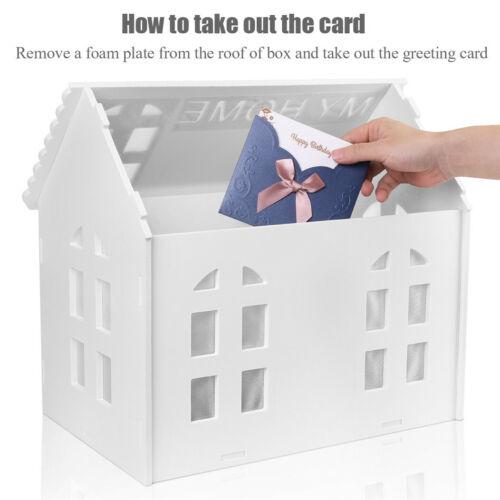 Wedding Card Post Wooden Box Collection Gift Card Box Wedding Decor Wishing Well