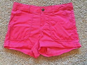 NWT-Girls-Pink-Adjustable-Waist-Cherokee-Shorts-Large-10-12