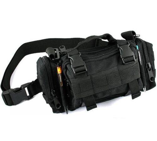 Multifunction Army Cycling Bicycle Bike Handlebar Bar Bag Waist Shoulder Bag TO
