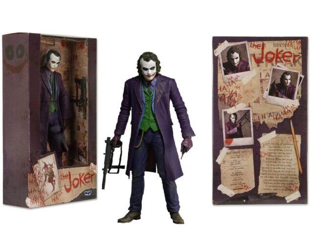 NECA DC Comics Joker Batman Dark Knight COLLECTIBLE Action PVC Figure NO BOX