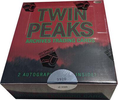 Empty Box /& Empty Packs 2019 Rittenhouse Twin Peaks Archives 72 Card BASE SET