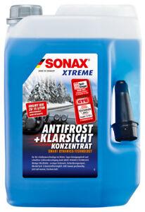 SONAX 02325050 XTREME AntiFrost+KlarSicht Konzentrat Scheiben Frostschutz 5L