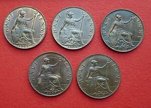Edward-VII-Half-Pence-1902-to-1910-Choose-your-date-or-grade