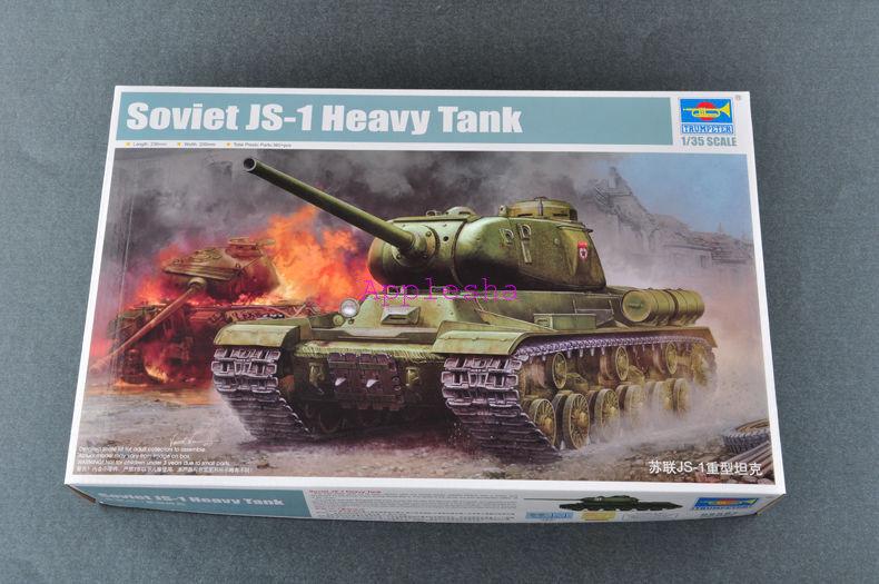 Trumpeter 05587 1 35 Soviet JS-1 Heavy Tank