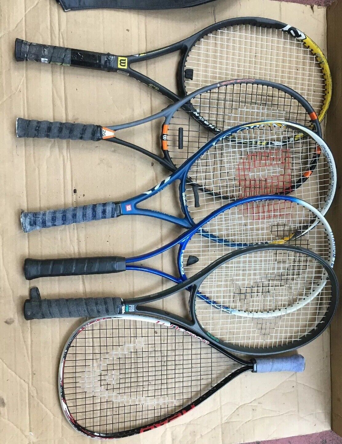 Raquette de tennis Lot Wilson DUNLOP Head