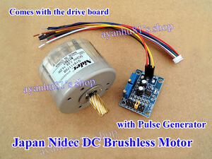 Reversible Japan Nidec Dc Brushless Motor Driver Board