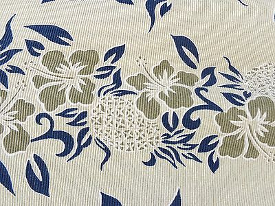 Men's POINT ZERO L 100% Cotton Made in USA Hawaiian Short Sleeve Hibiscus Flower