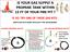 """BASIC PROPANE DIY GAS FIRE PIT KIT /& 12/"""" LIFETIME WARRANTED 316 BURNER FR12CK"""