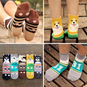 3d11cc2c69537 Chaussette Homme Femme Unisexe Coton Cartoon Chien Animal Socquettes ...