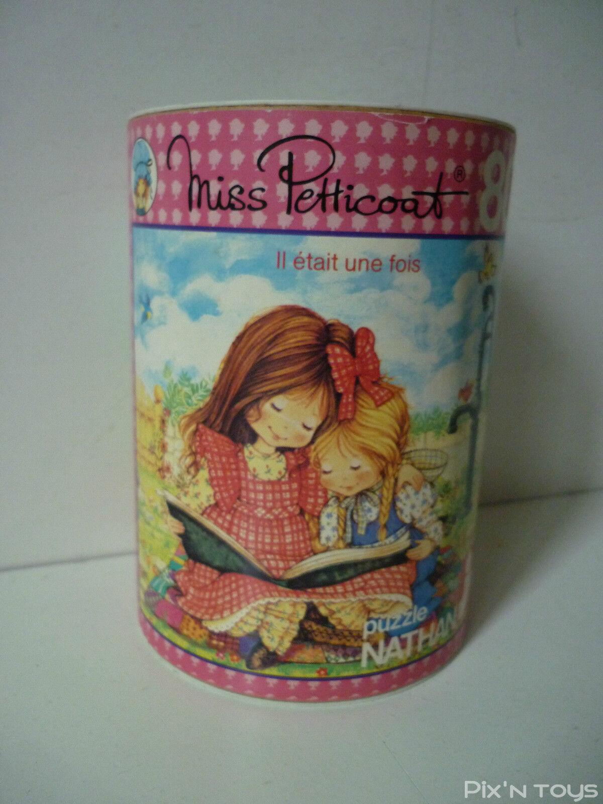 Puzzle en bois 80 pièces Miss Petticoat  il était une fois  1980 Roth Greetings