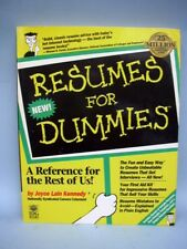 book resumes for dummies by joyce lain kennedy - Resumes For Dummies