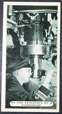 Royal Navy Submarine Periscope    Vintage Action Photo Card # VGC