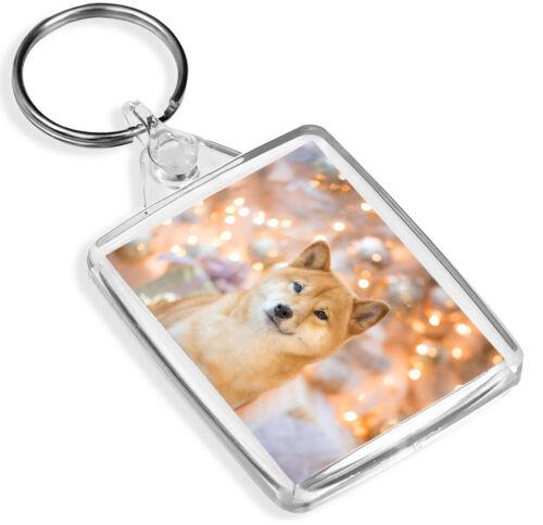 Shiba Inu Dog Keyring Puppy Cute Japan Japanese Akita Pretty Keyring Gift #8751
