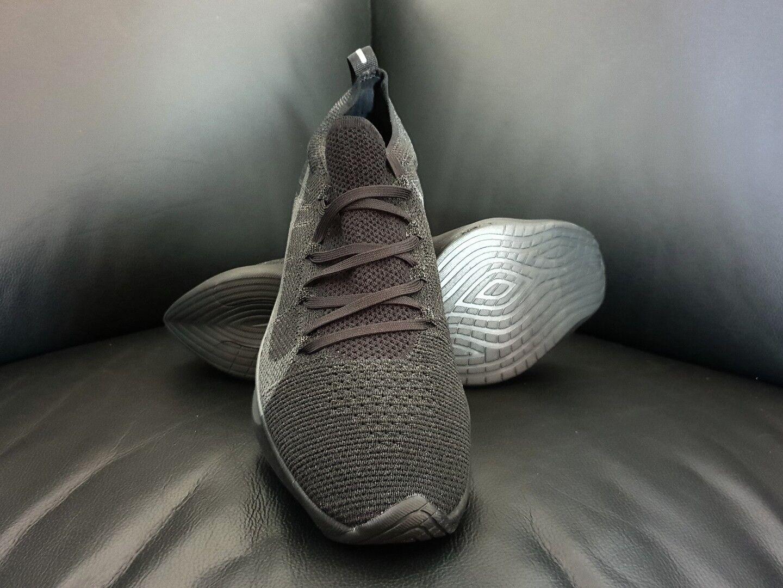Nike vapore street flyknit, triple nero, (aq1763-001), 10