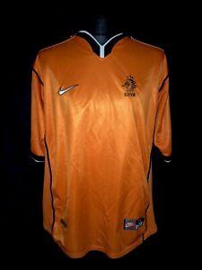 Holland 1998-00 Home Vintage Football Shirt - Good Condition