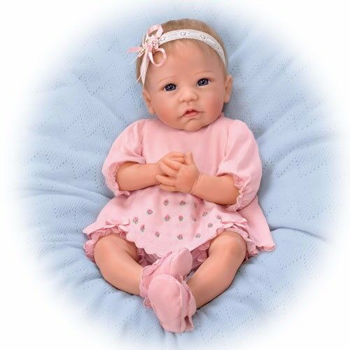 Buy Ashton Drake Claire Silicone Lifelike Baby Doll 18 By Linda