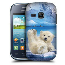 CUSTODIA COVER per SAMSUNG GT S6310 GALAXY YOUNG TPU BACK CASE ORSETTO DIVERTEN.