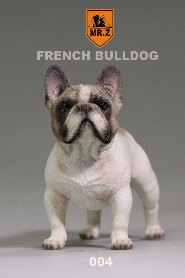 Mr.Z 004 Animal Simulation French Bulldog For 12  Figure Scene 1 6 Scale