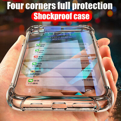 promo code ddc85 7ad0f For Vivo Y81 Y83 Y85 Y97 V11 Pro V9 X21 X20 Shockproof Clear Soft TPU Case  Cover | eBay