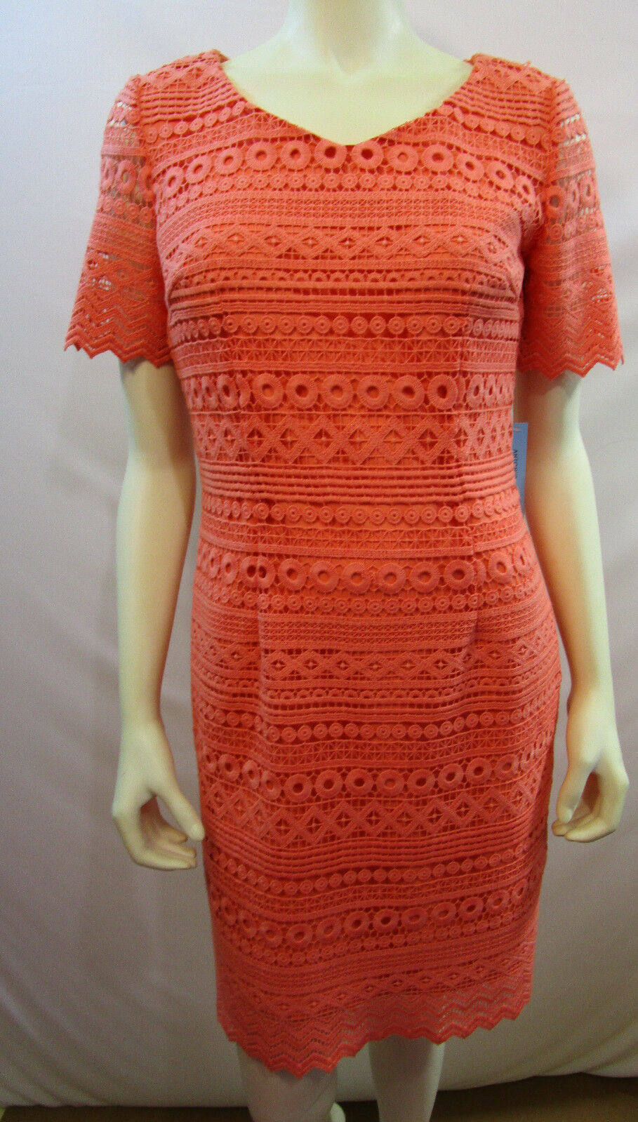 ANTONIO MELANI  SUNKISS LACE DRESS SIZE 4 NEW WITH TAG