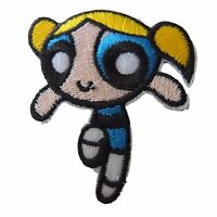 Powerpuff Girls Bubbles Figure Embroidered Patch