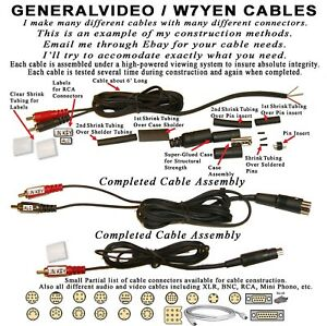 10-PIN-MINI-DIN-CABLE-WITH-KEYING-amp-ALC-FOR-YAESU-FT-950-FT-450-FT-DX1200