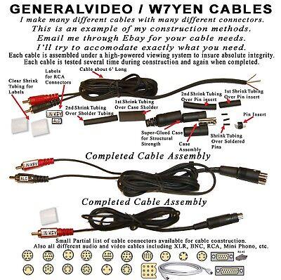 YAESU 10-PIN MINI-DIN CABLE, KEYING, ALC, FT-950, FT-450D, FT-DX1200,  FTDX10   eBayeBay