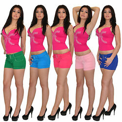 Damen Shorts Damenshorts kurze Hose Hosen H25