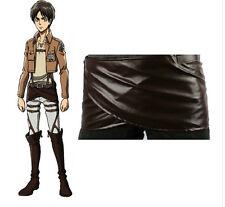 Cosplay Attack on Titan Shingeki no Kyojin Leather skirt hookshot belt costume