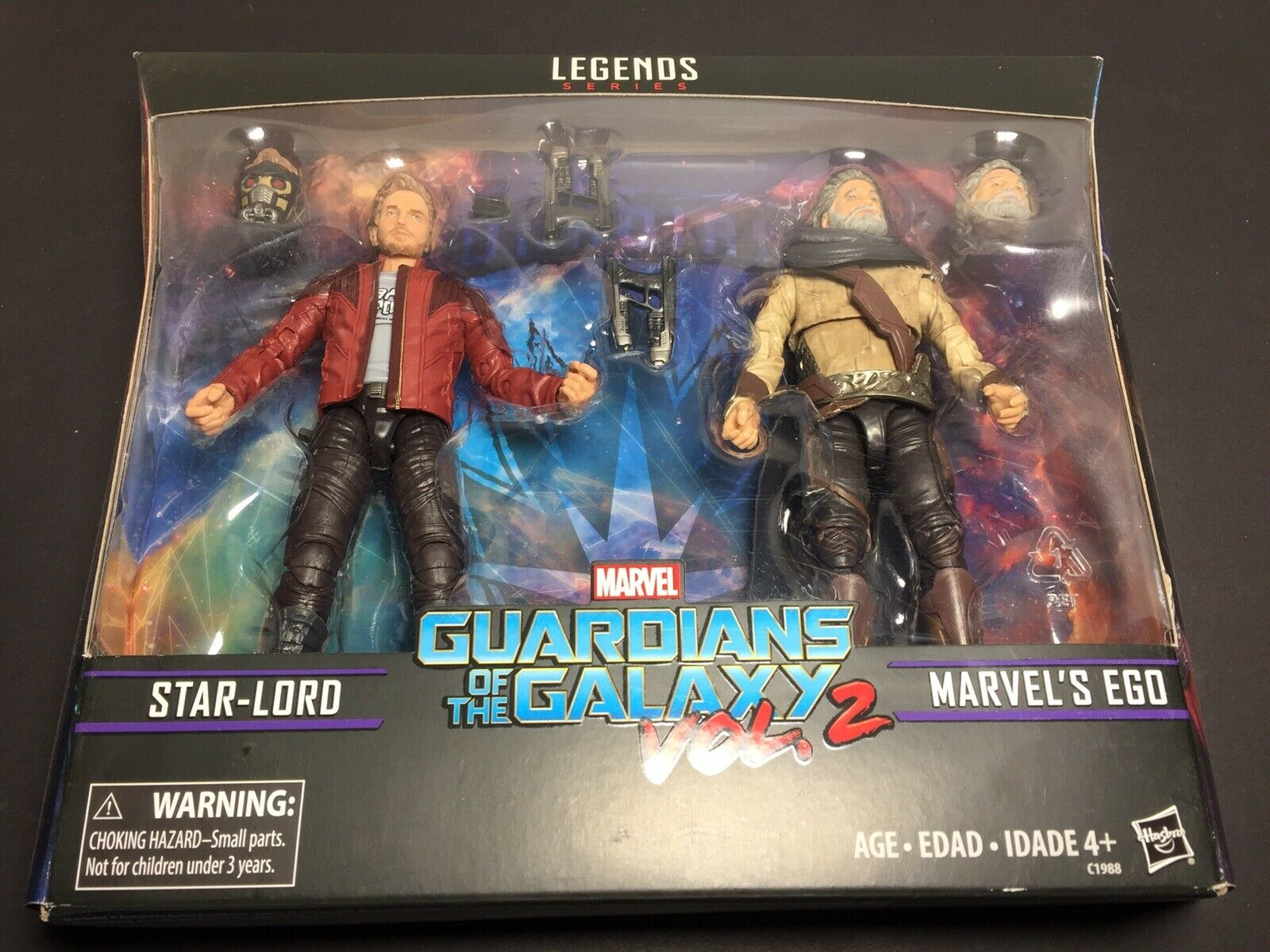 MARVEL Legends Guardians of the the the Galaxy Vol. 2 Marvel's Ego & Star-Lord - NEW    b72579