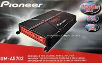 Pioneer Gm-a5702 2-channel A Series Bridgeable Class Ab Car Audio Amplifier