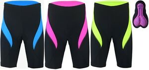 Professional-Womens-Cyclist-High-quality-performance-Cool-Max-Padded-Shorts