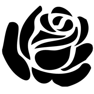 Rose-Flower-Vinyl-Sticker-Decal-Love-Choose-Size-amp-Color