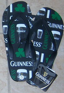 93a28f92b5b6 Adult Men s Flip Flops - Guinness - Many Sizes - New w  Tags MSRP ...