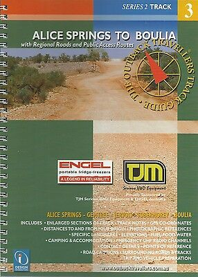 Alice Springs to Boulia Track Guide *FREE SHIPPING - NEW*