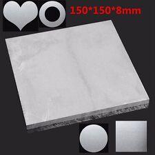 150x150x8mm ALUMINUM 6061 Flat Bar Metal Plate Sheet 8mm Thick Cut Mill Stock