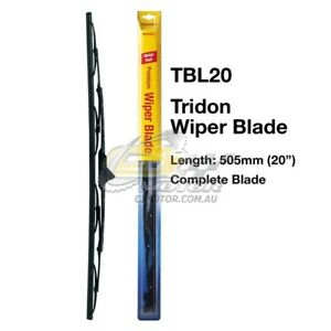 TRIDON-WIPER-COMPLETE-BLADE-DRVIER-FOR-Citroen-BX16-BX19-01-86-02-94-20inch