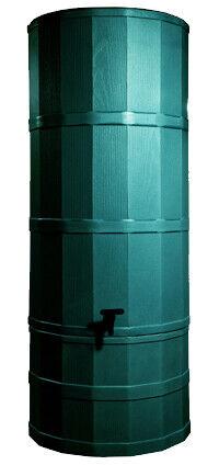 200 L polybutt Chêne waterbutt en vert
