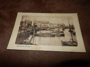 1911-Kent-Postcard-Harbour-amp-fishing-boats-Ramsgate