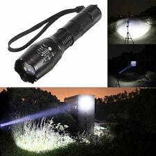 Ultrafire 5000Lumen LED 18650/AAA Flashlight Zoomable Torch Focus FlashlightLamp