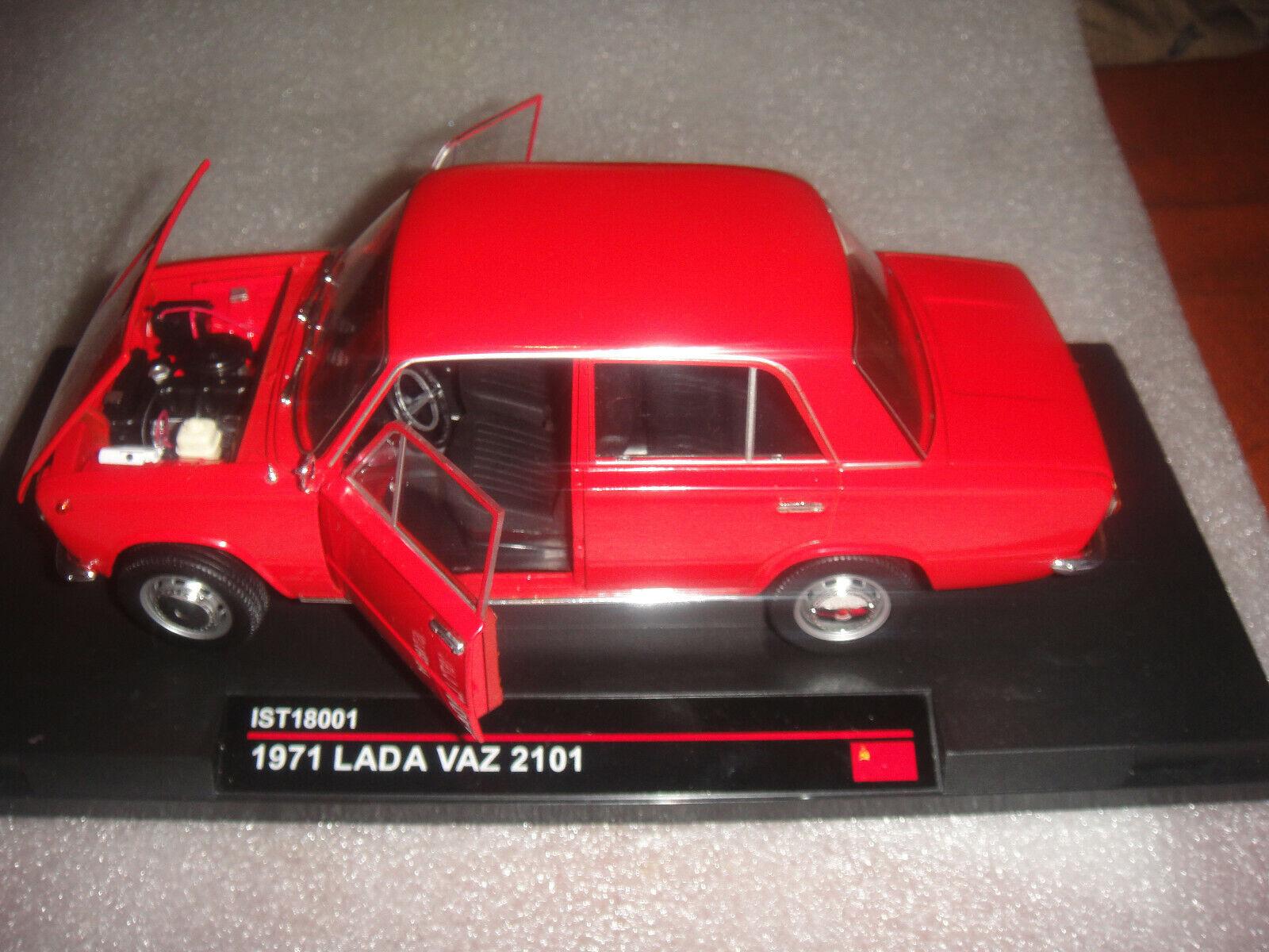 Verkaufe ein 1 18 Lada 1200 red,IST Modell, New,Neu, OVP ,RARE