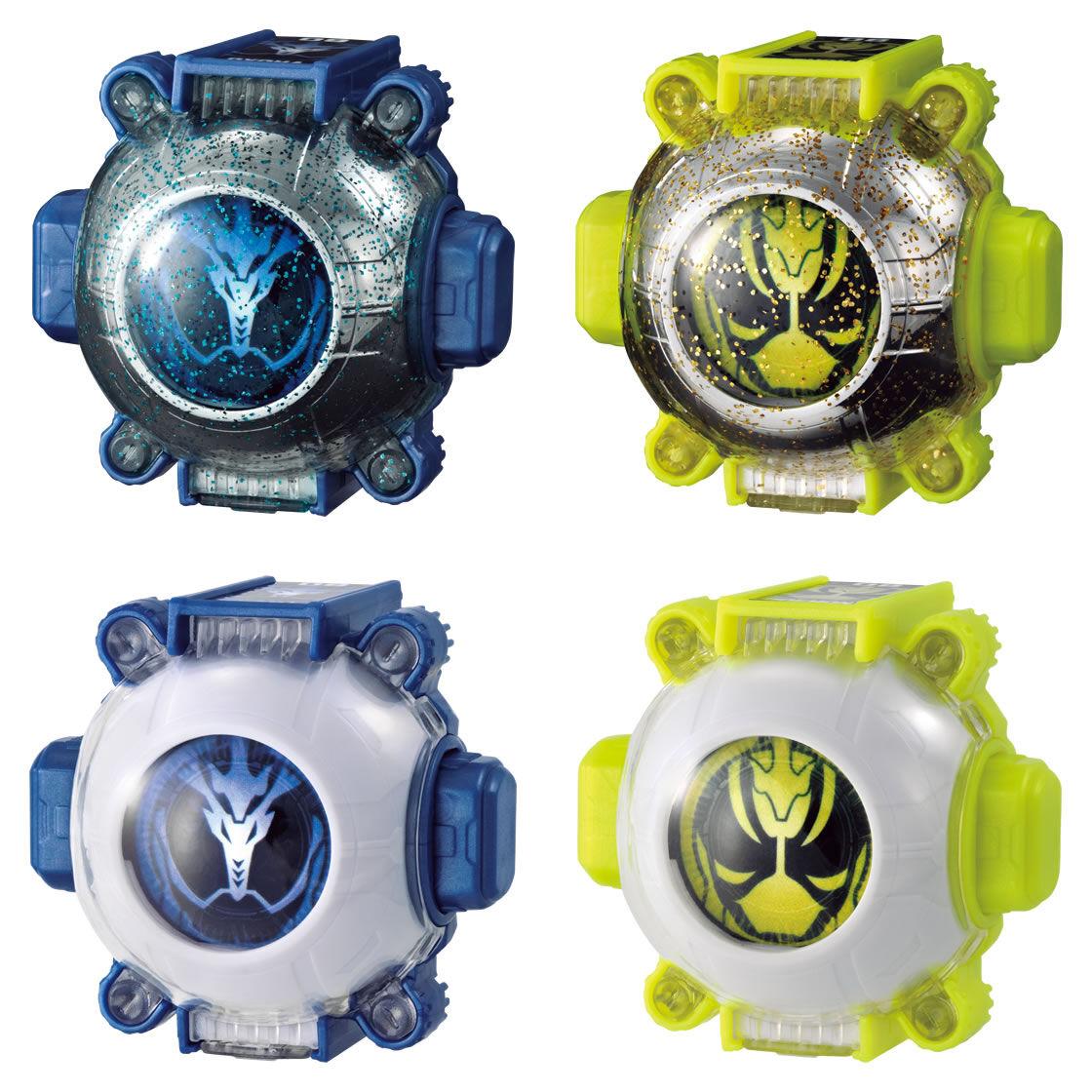 RARE   Bandai Masked Kamen Rider Ghost Gashapon Ghost eyecon 07 4 kinds of sets