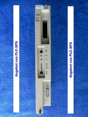 1x simatic s5 6es5 942-7ub11 6es5942-7ub11 115u CPU 942-7ub11 OK.