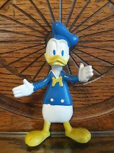 Walt Disney Donald Duck Bendable Vintage 1970s Rubber Figure