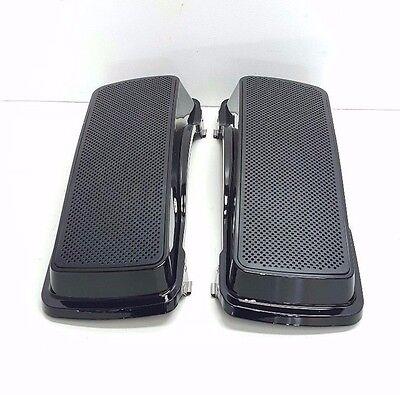 97-13 Abs Plastic Harley Davidson Double 6x9 Speaker Lids Touring Flh
