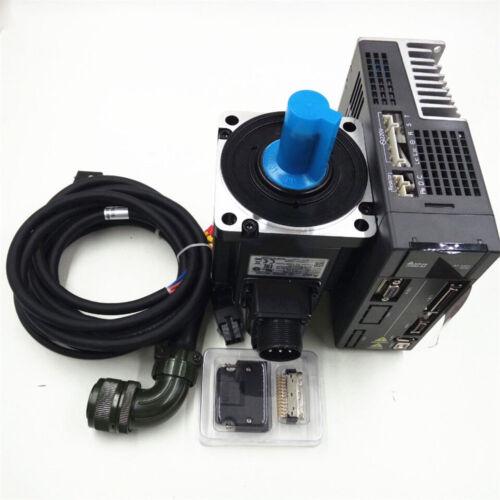 Delta 200W 0.64NM 92ozin AC Servo Motor Kit NEMA24 Planetary Gear Speed Reducer
