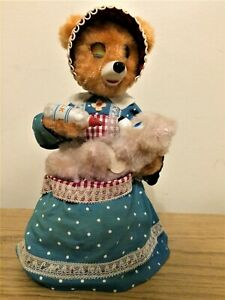 Mama and Baby Teddy Bear ~ a Vintage Pattern